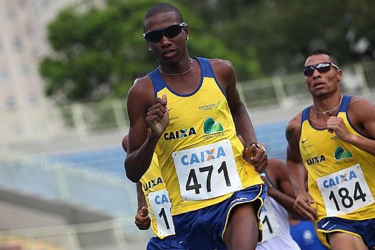 O atleta Thiago André, que disputará os 800 m nos Jogos de Tóquio