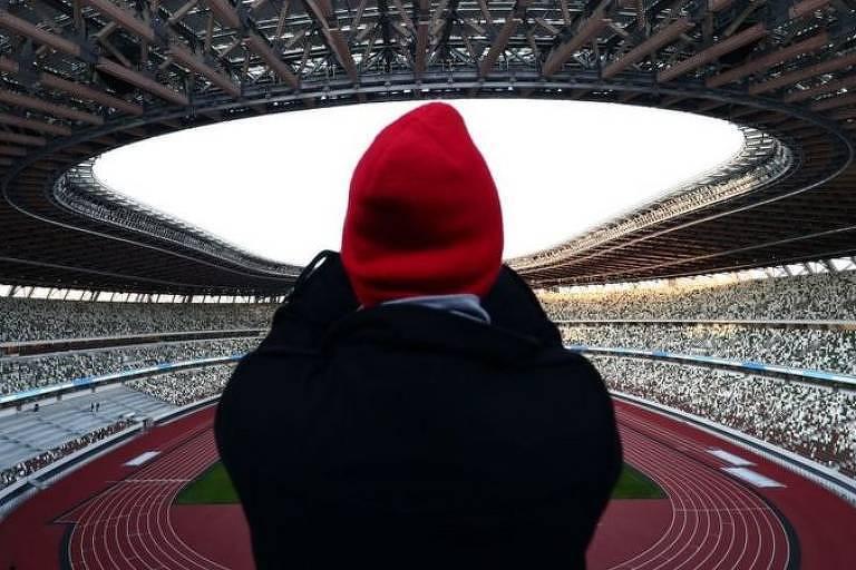 El Estadio Olímpico de Tokio no tendrá público por las restricciones de la pandemia en la capital de Japón.