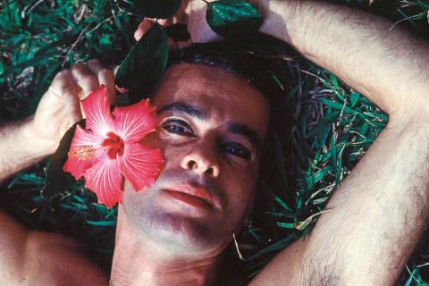 Foto de Ney Matogrosso que estão em biografia lançada pela Companhia das Letras. ( Foto:  Reprodução )