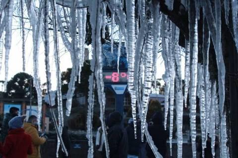 Urupema (SC) registrou o recorde de menor temperatura do ano no país, com -8,9 °C