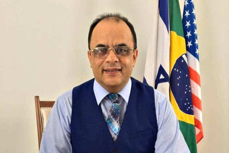 O reverendo Amilton Gomes de Paula, presidente da Secretaria Nacional de Assuntos Humanitários (Senah)