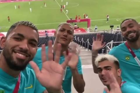 Douglas Luiz, Richarlison, Reinier e Matheus Cunha dão tchau aos argentinos, eliminados das Olimpíadas de Tóquio
