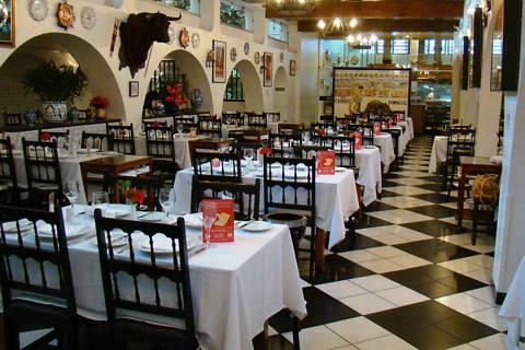 Don Curro,salão atual do restaurante ( Foto: Divulgação )