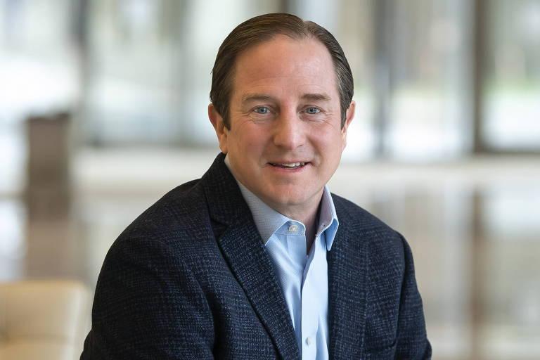 O executivo-chefe de Sustentabilidade da Boeing, Chris Raymond, que assumiu em setembro de 2020