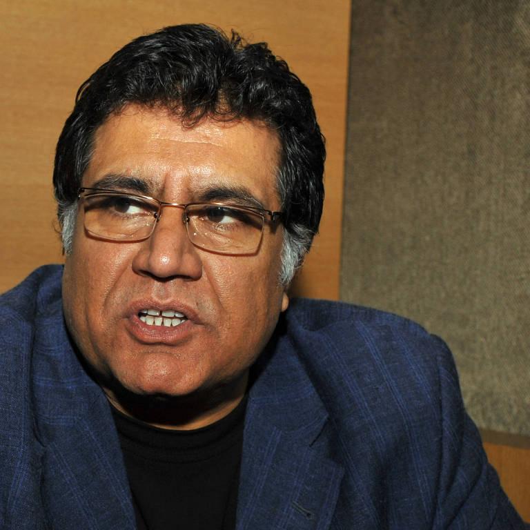 Diretor afegão Siddiq Barmak em Festival de Filme Internacional de Busan, na Coreia do Sul