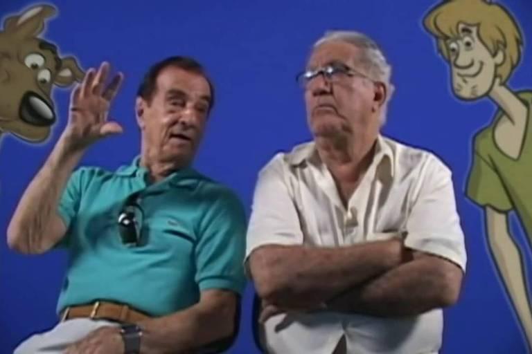 Orlando Drummond (esq.) e Mário Monjardim (dir.)