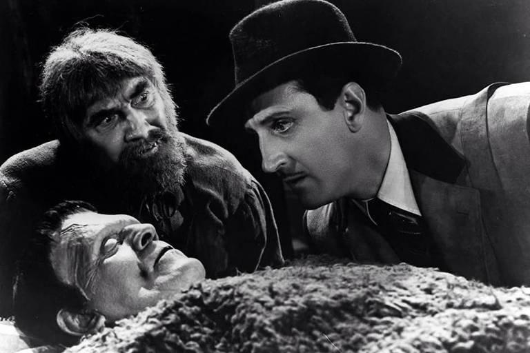 """Cena do filme """"O Filho de Frankenstein"""""""