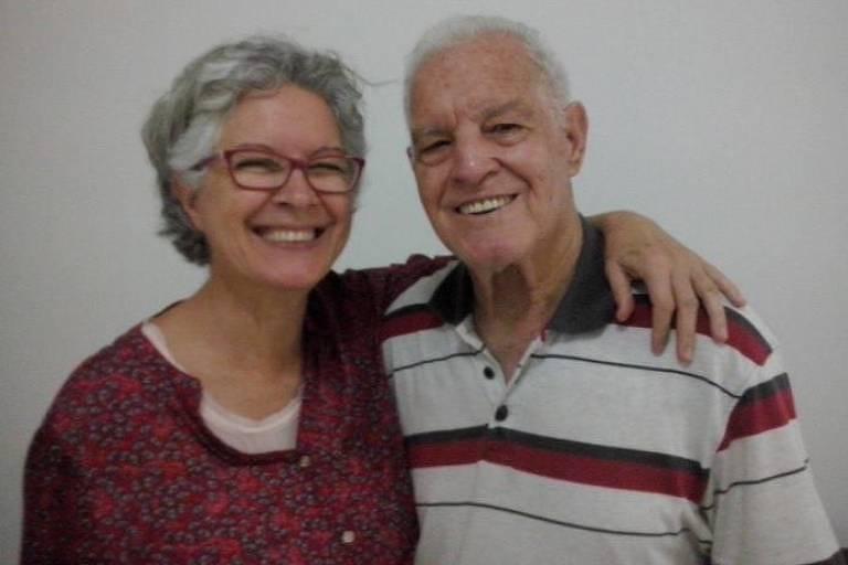 Luiz Lopes (1930-2021) e a filha Rosângela Lopes