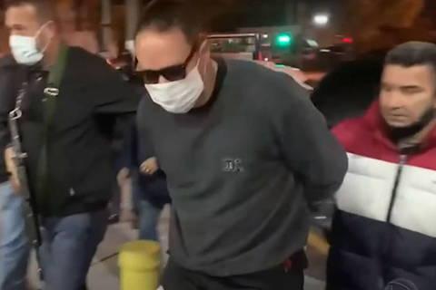 SAO PAULO,SP - O ex-vereador do Rio de Janeiro, Cristiano Girão, acusado de envolvimento com a milícia, foi preso em São Paulo em uma operação conjunta da Polícia Civil dos dois estados. (Foto: Reproducao)