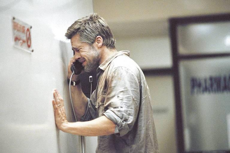 O ator Brad Pitt em cena do filme 'Babel' (2006), do diretor Alejandro González Iñárritu