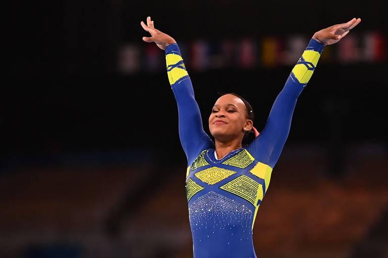 Trabalho de 9 anos com psicóloga molda serenidade de Rebeca nas Olimpíadas