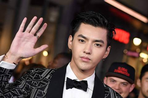 (FILES) This file photo taken on January 19, 2017 shows Chinese-Canadian pop idol Kris Wu attending the premiere of Paramount Pictures'