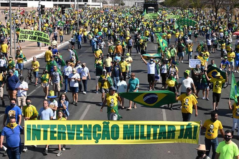Entenda limites à liberdade de expressão em meio a ameaças golpistas de Bolsonaro e seus aliados