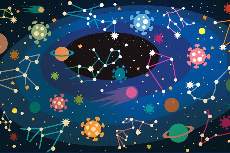 E se alguma pesquisa comprovasse a relação entre astrologia e a Covid?