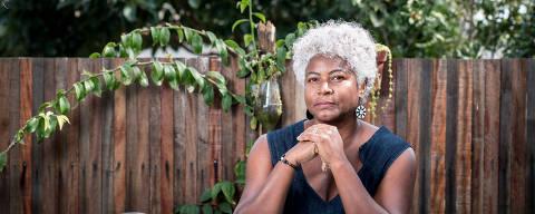 Maricá, RJ, BRASIL, 21-07-2021: A química Viviane Prates, professora do Instituto Federal do Rio de Janeiro, leva o debate racial para a pesquisa científica. (Foto: Lucas Seixas/Folhapress).