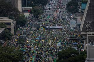 PROTESTO A FAVOR DO VOTO IMPRESSO