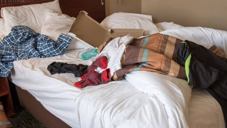 O que se esconde debaixo dos nossos lençóis mesmo quando parecem limpos