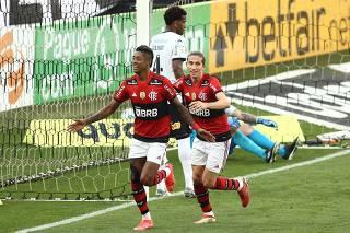 Brasileiro Championship - Corinthians v Flamengo