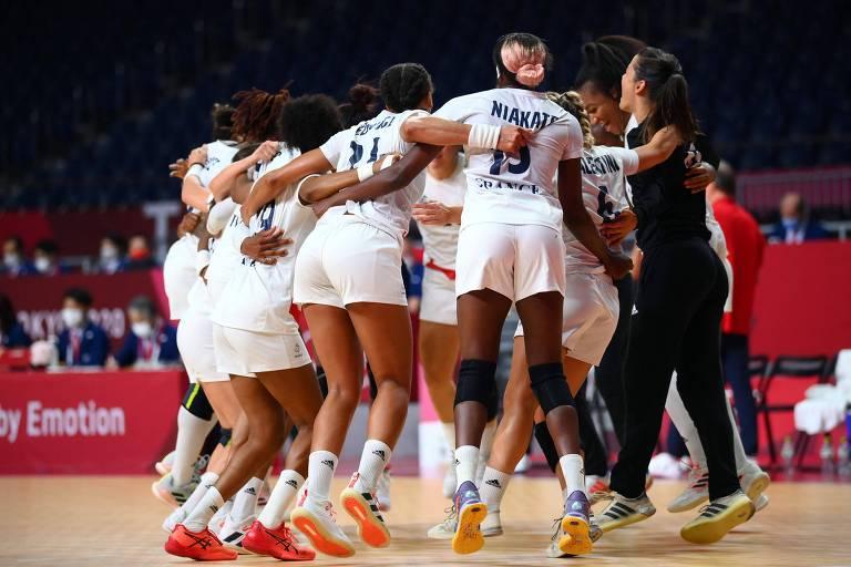 Brasil perde para a França por 29 a 22 e dá adeus aos Jogos de Tóquio