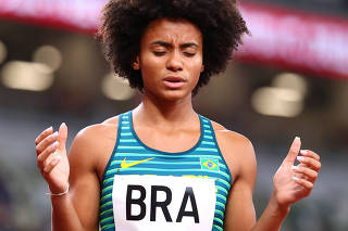 Athletics - Mixed 4 x 400m Relay - Round 1