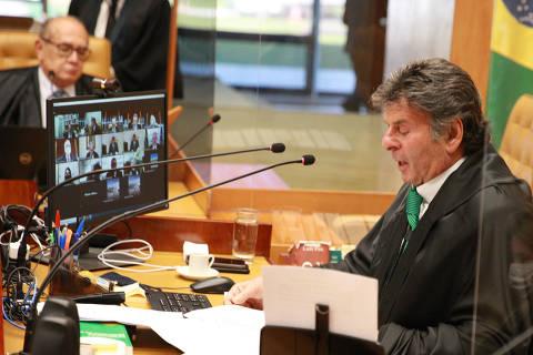Após ameaças de Bolsonaro, Fux defende hora certa para 'erguer a voz' e diz que harmonia entre Poderes não implica impunidade