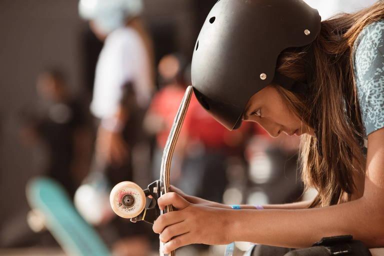 Pai de skatista poderia acompanhar filha nas Olimpíadas, mas cedeu vaga a técnico