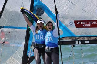 Sailing - Women's 49er FX - Medal Race