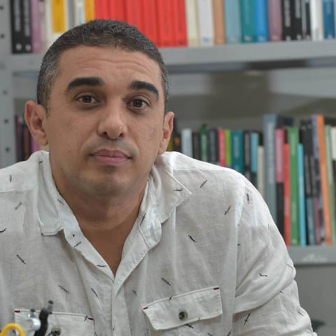JOÃO PESSOA, PB, 21.07.2021 - Capitão da PM e instrutor  Fábio França - Violencia policial - entrevista . (Foto Josemar Goncalves)
