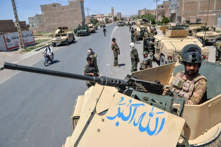 Exército do Afeganistão ordena evacuação de cidade atacada pelo Taleban