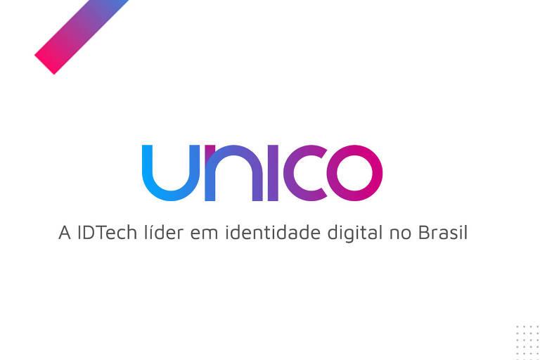 """Logo de marca com o nome """"unico"""""""