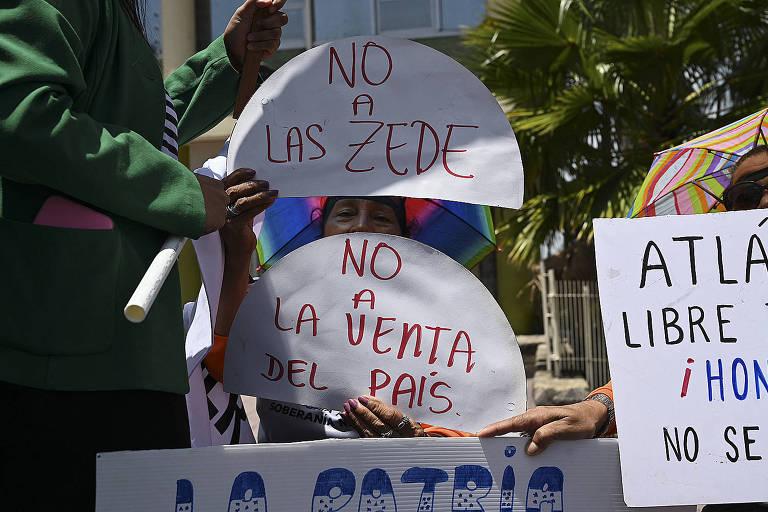 As controversas cidades modelo de Honduras são reativadas
