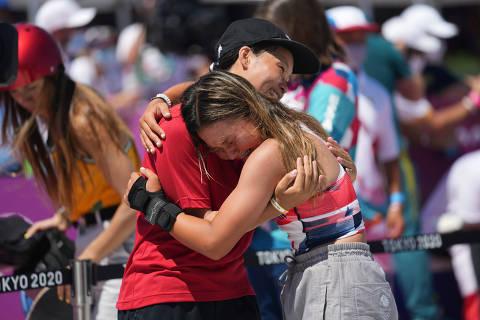 Empatia de jovens skatistas alavanca sucesso do esporte nas Olimpíadas