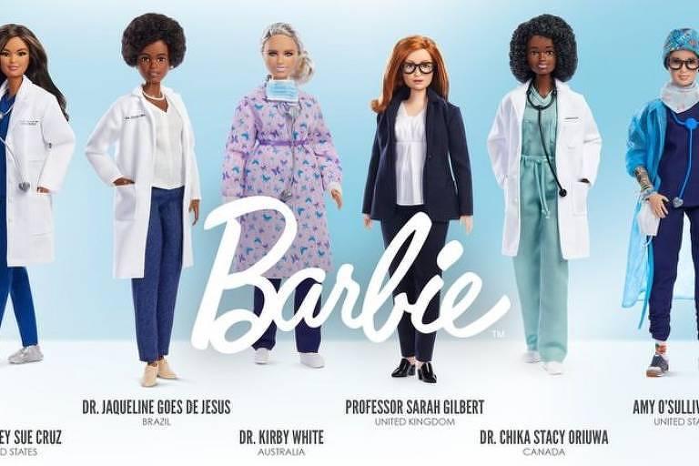 Barbie brasileira: Biomédica que ajudou a sequenciar DNA do coronavírus é homenageada com boneca