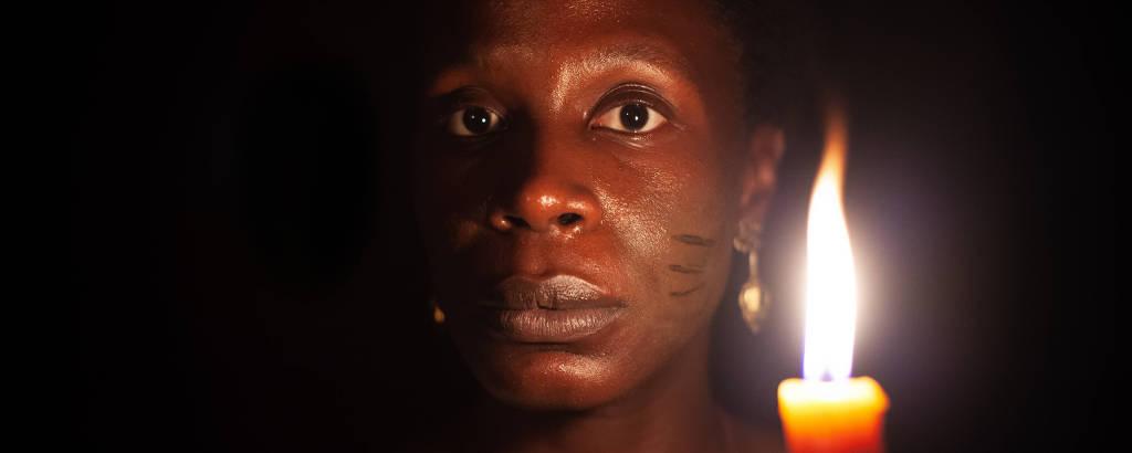 Isabél Zuaa vive a mãe de Luiz Gama, Luísa Mahin, no filme