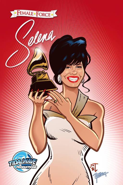 """Capa da HQ """"Female Force: Selena"""""""