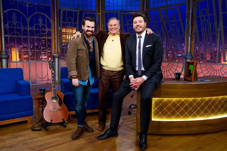 Ronnie Von, Léo Von e Danilo Gentili