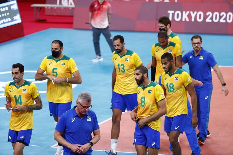 Brasil perde para Comitê Olímpico Russo e vai disputar o bronze