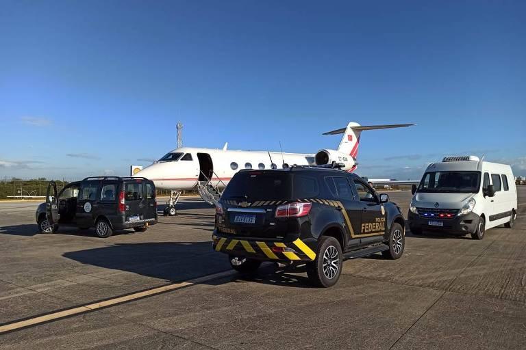 PF apreende 1,3 tonelada de cocaína em Fortaleza em avião que iria para a Europa; veja vídeo