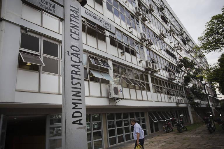 Prédio da reitoria da USP na Cidade Universitária