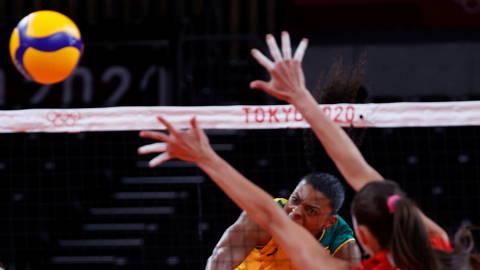 Análise mostra que seleção feminina de vôlei depende da força do ataque para pontuar