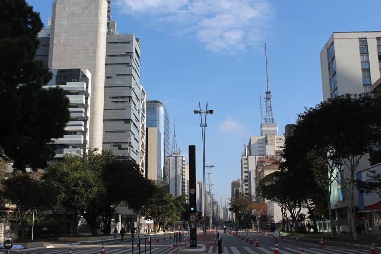 Reabertura da Av. Paulista