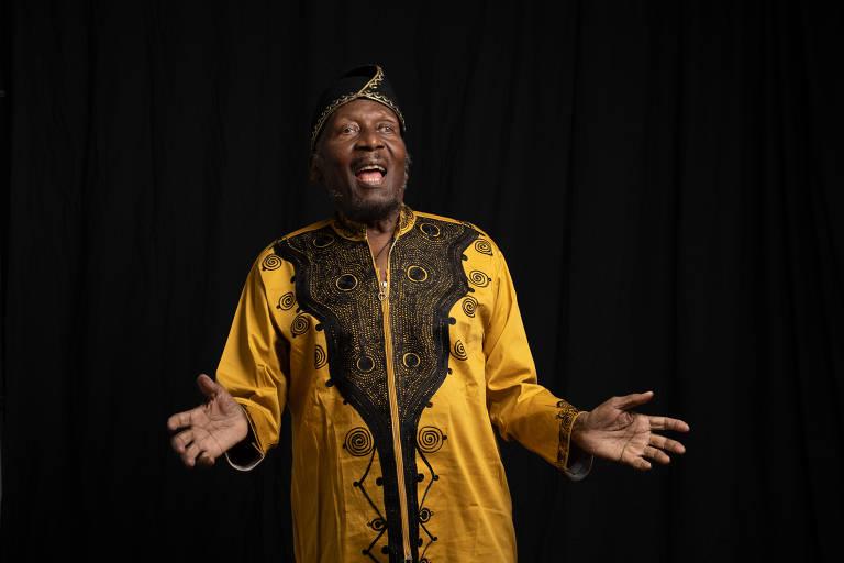 O cantor, compositor e ator jamaicano Jimmy Cliff
