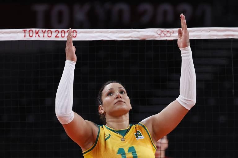Tandara está fora das Olimpíadas e voltará ao Brasil