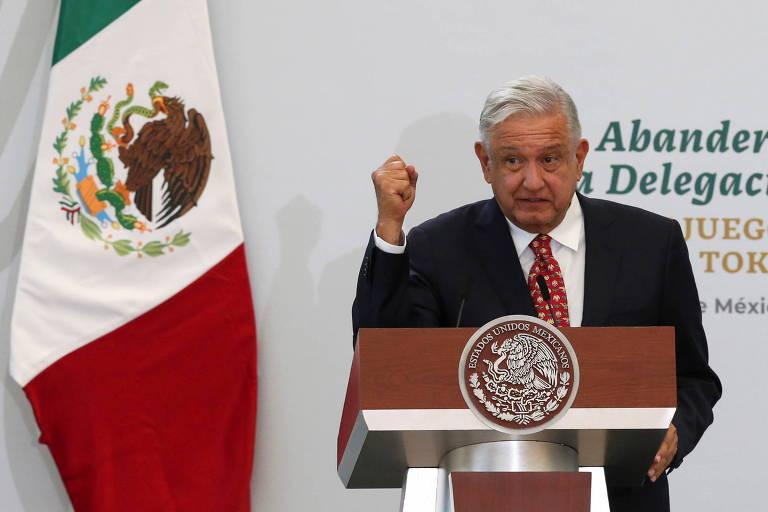 López Obrador e a militarização do México