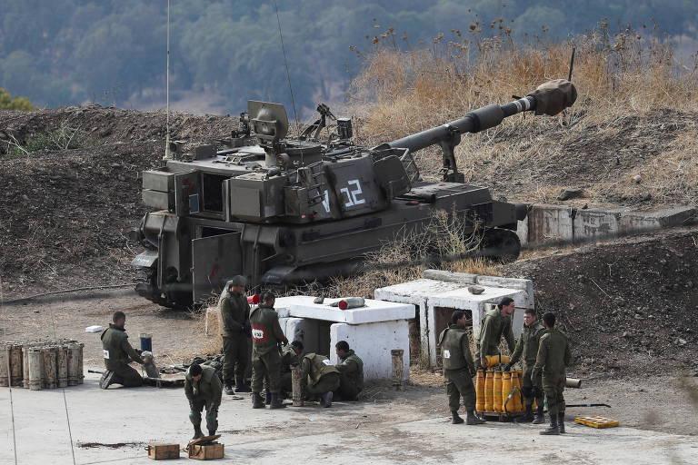 Em meio a tensões com o Irã, Israel e Hizbullah trocam fogo pelo 3º dia
