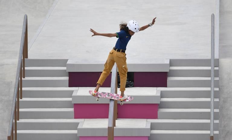Os looks das skatistas nas Olimpíadas