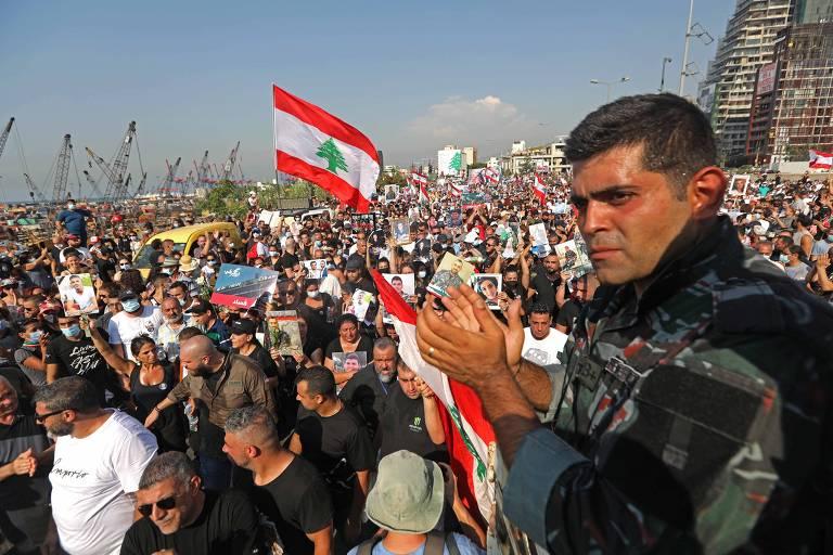 Líbano vive pior crise econômica em mais de um século