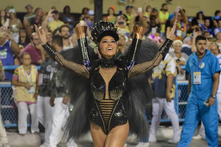 Sabrina Sato volta a ser rainha de bateria da Vila Isabel em 2022