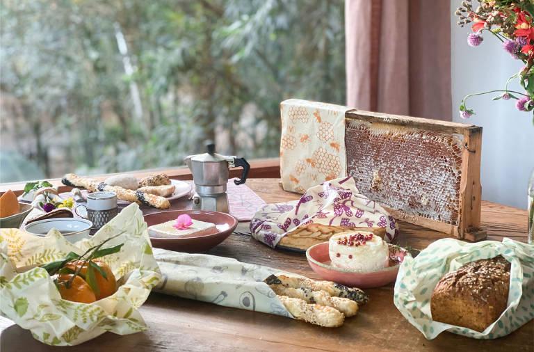 Marcas desenvolvem embalagens feitas com milho, mandioca e cera