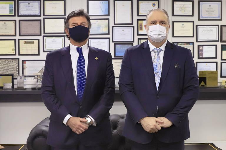 Em encontro com Aras, Fux passa recado que falta de atuação do PGR expõe ministros do STF